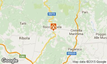 Mapa Roccastrada Villa 55549