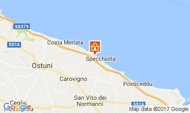 Mapa Ostuni Villa 109272