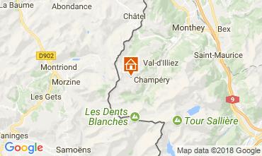 Mapa Les Crosets Apartamento 33579