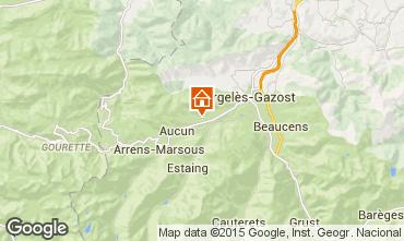 Mapa Argeles Gazost Casa rural 68864
