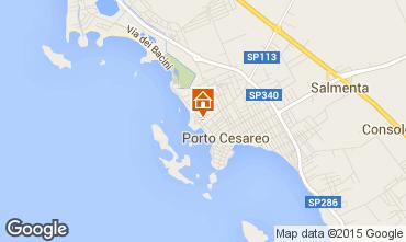 Mapa Porto Cesareo Apartamento 70791