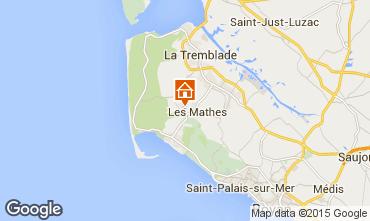 Mapa Les Mathes Mobil home 96192