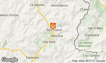Mapa Morzine Chalet 21894