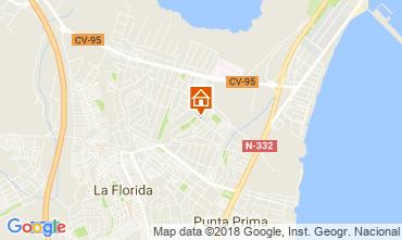 Mapa Torrevieja Apartamento 115074