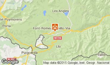 Mapa Font Romeu Apartamento 4175