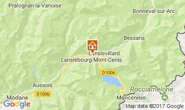 Mapa Val Cenis Apartamento 92268