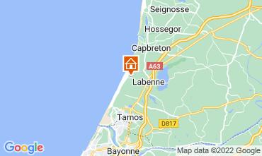 Mapa Labenne Océan Mobil home 119369
