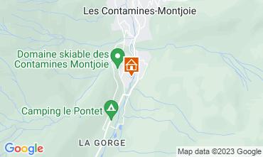 Mapa Les Contamines Montjoie Apartamento 81787