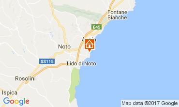 Mapa Avola Villa 108927