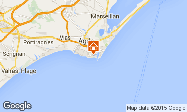 Mapa Cap d'Agde Apartamento 40866