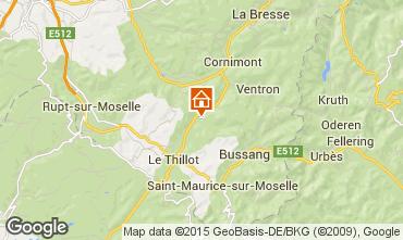 Mapa Ventron Chalet 4679