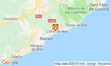 Mapa Lloret de Mar Apartamento 57226