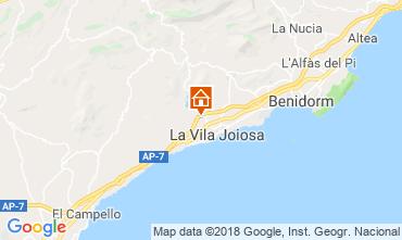 Mapa Benidorm Villa 97736