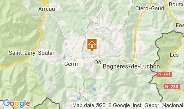 Mapa Luchon Superbagneres Chalet 38731