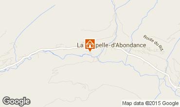 Mapa La Chapelle d'Abondance Apartamento 80446
