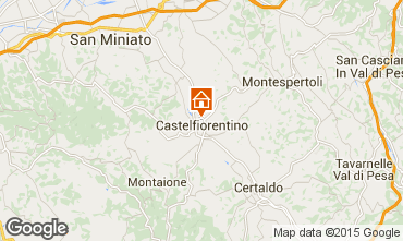 Mapa San Gimignano Apartamento 71804