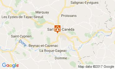 Mapa Sarlat Casa rural 108143