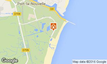 Mapa Port La Nouvelle Apartamento 10511