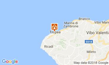 Mapa Tropea Apartamento 113270
