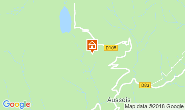 Mapa Aussois Apartamento 38700