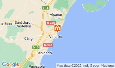 Mapa Vinaroz Villa 11345