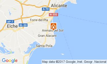 Mapa Alicante Apartamento 111463