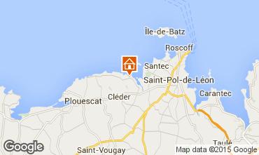 Mapa Roscoff Casa 7407