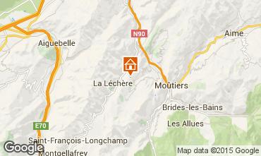 Mapa Valmorel Chalet 3473