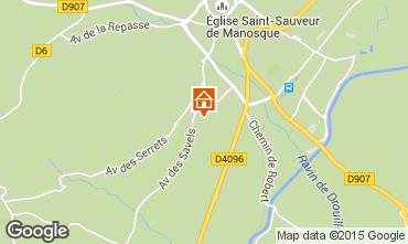 Mapa Manosque Casa 93506