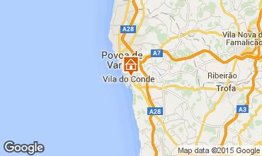 Mapa Vila do Conde Apartamento 75568