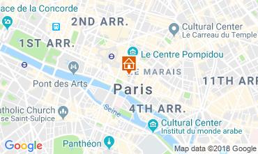 Mapa PARÍS Apartamento 115578