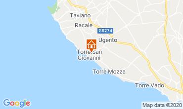 Mapa Ugento - Torre San Giovanni Apartamento 118740