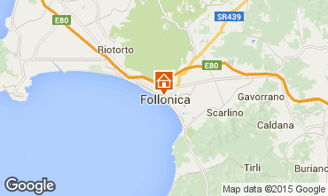 Mapa Follonica Apartamento 76470