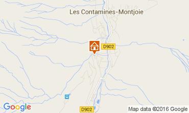Mapa Les Contamines Montjoie Apartamento 66462