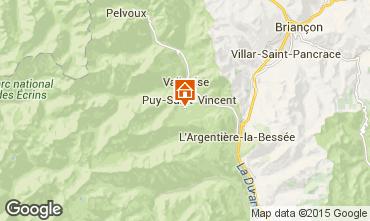 Mapa Puy Saint Vincent Estudio 79720