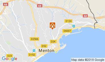 Mapa Menton Apartamento 113375