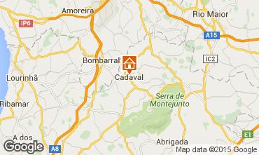 Mapa Cadaval Casa rural 101013