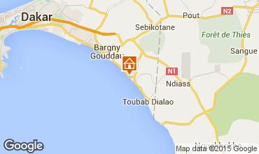 Mapa Toubab Dialaw Villa 65531