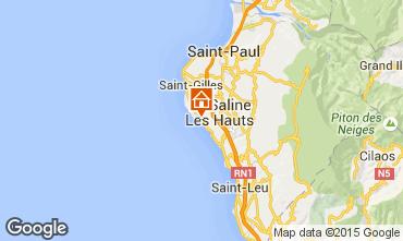 Mapa Saint Gilles Villa 88178