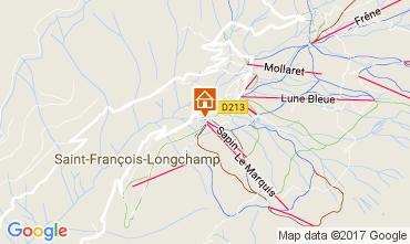 Mapa Saint François Longchamp Apartamento 112015