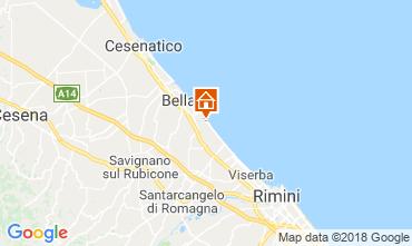Mapa Bellaria Igea Marina Apartamento 82159