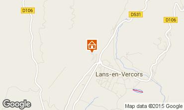 Mapa Villard de Lans - Corren�on en Vercors Chalet 95804