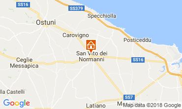 Mapa Ostuni Villa 95258