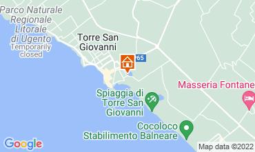 Mapa Ugento - Torre San Giovanni Apartamento 118742