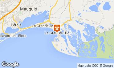 Mapa Le Grau du Roi Apartamento 49512