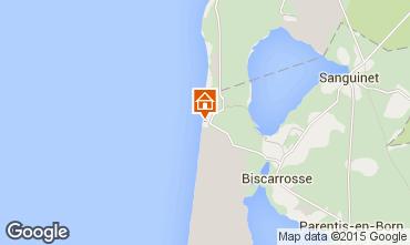 Mapa Biscarrosse Apartamento 19390