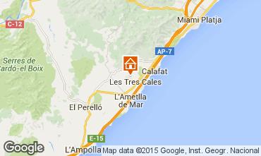 Mapa La Ametlla de Mar Villa 67017