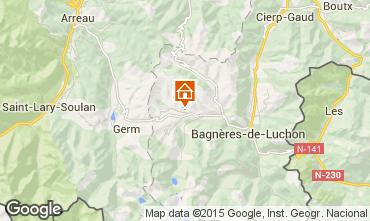 Mapa Luchon Superbagneres Chalet 57698