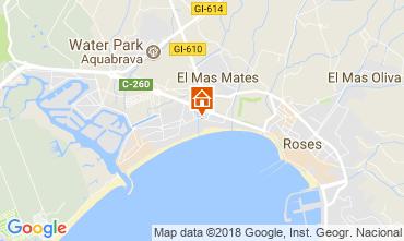 Mapa Rosas Apartamento 53397
