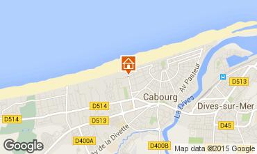 Mapa Cabourg Apartamento 78575